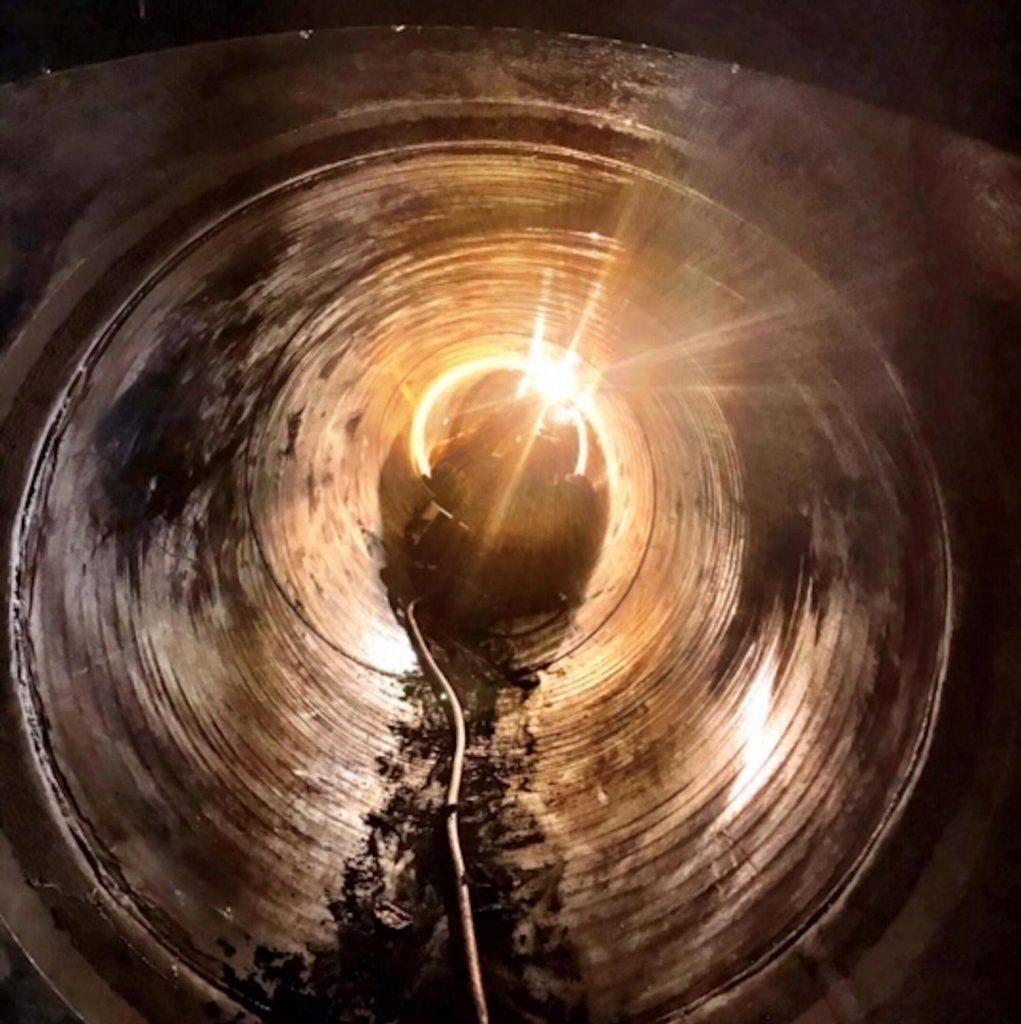 Soudure dans conduite forcée pour entretien de centrale hydraulique